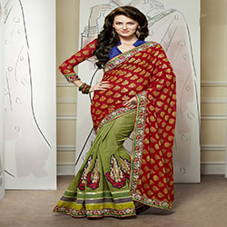 Latest Indian Banarsi Saree Designs Collection